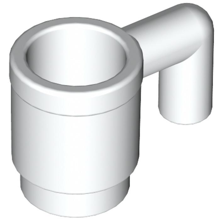 LEGO 8 x Tasse Glas Becher Cup 3899  gelb