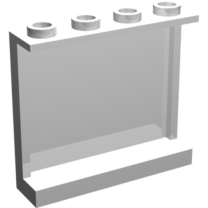 Lego 60581 # 4x Panels 1x4x3 White White 60110 70620