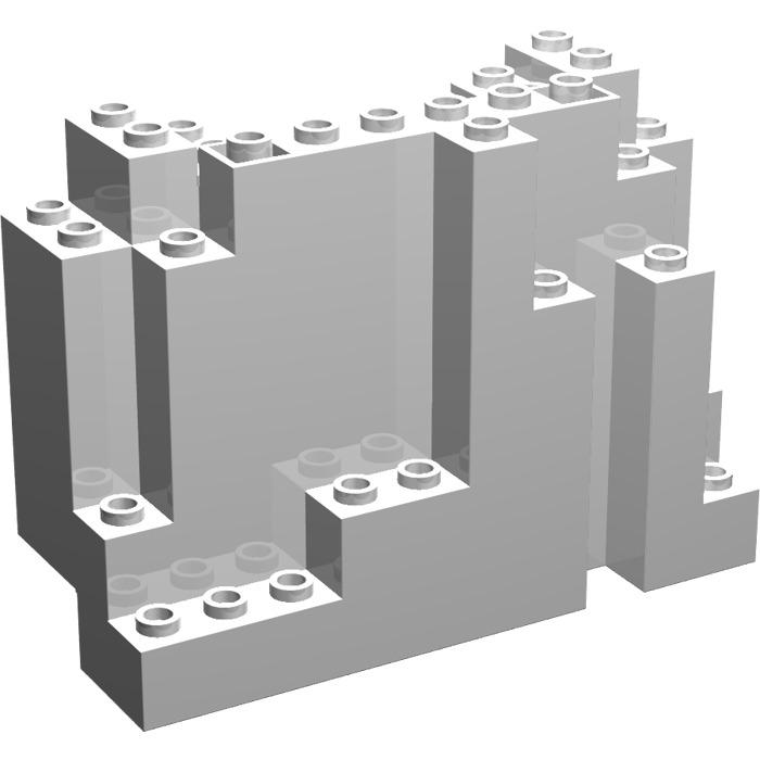 lego panel 4 x 10 x 6 rock rectangular 6082 brick owl lego marketplace. Black Bedroom Furniture Sets. Home Design Ideas
