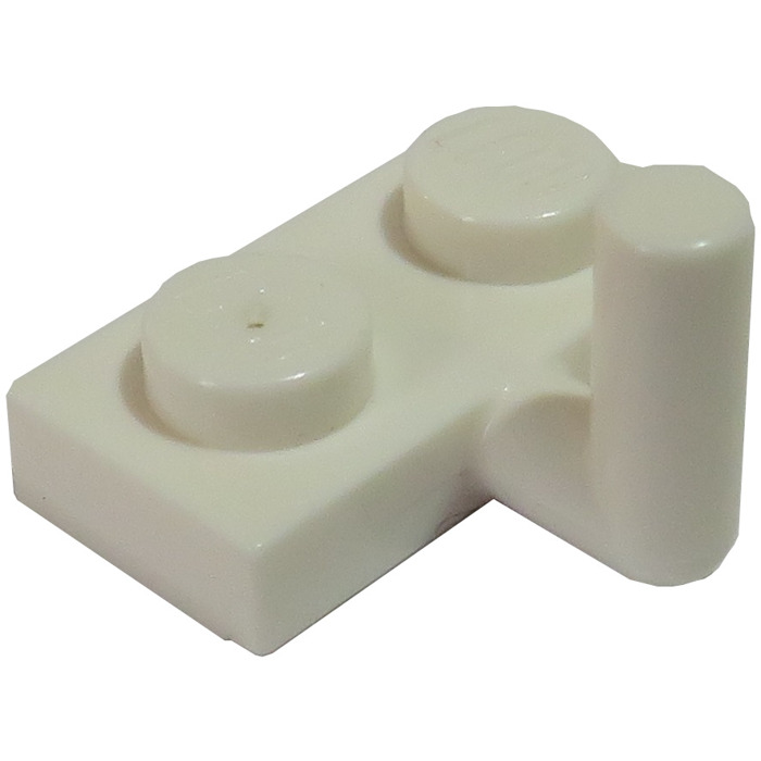 white plate 1x2 arm up nine new 6 x lego 88072 plate vertical hook