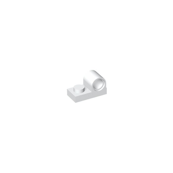 20 X Nouveau LEGO Part 11458 blanc 1x2 avec Pin Hole-Gratuit P /& p