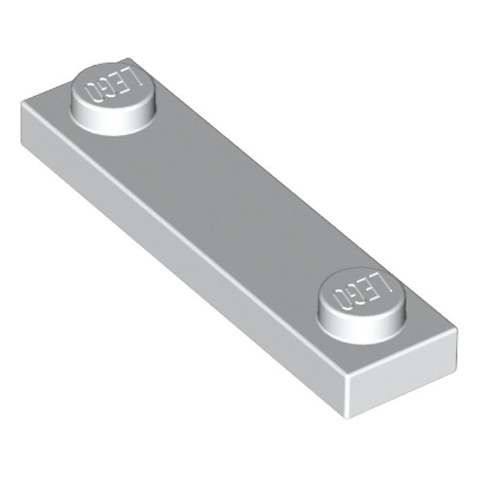 92593 8 Piece 6 # LEGO PLATE 1x4 White
