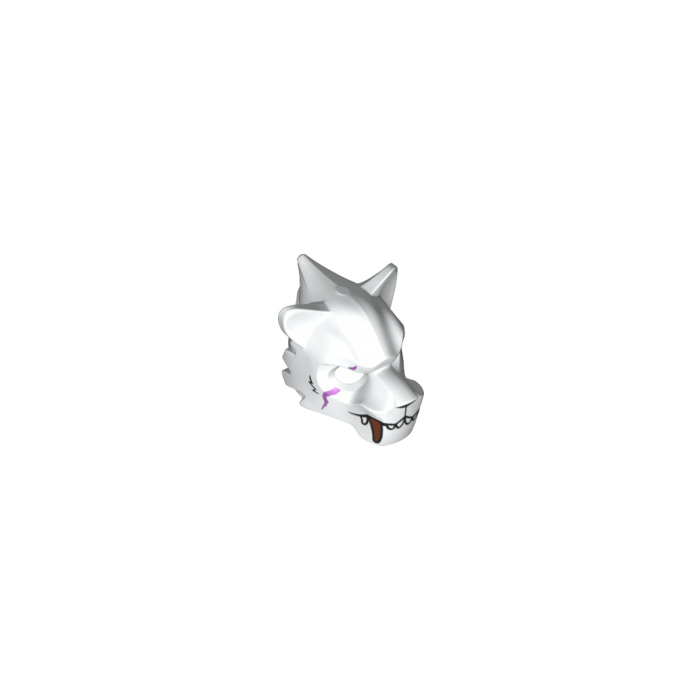 chima sir fangar coloring pages | LEGO White Sir Fangar Minifigure Wolf Head (17342) | Brick ...