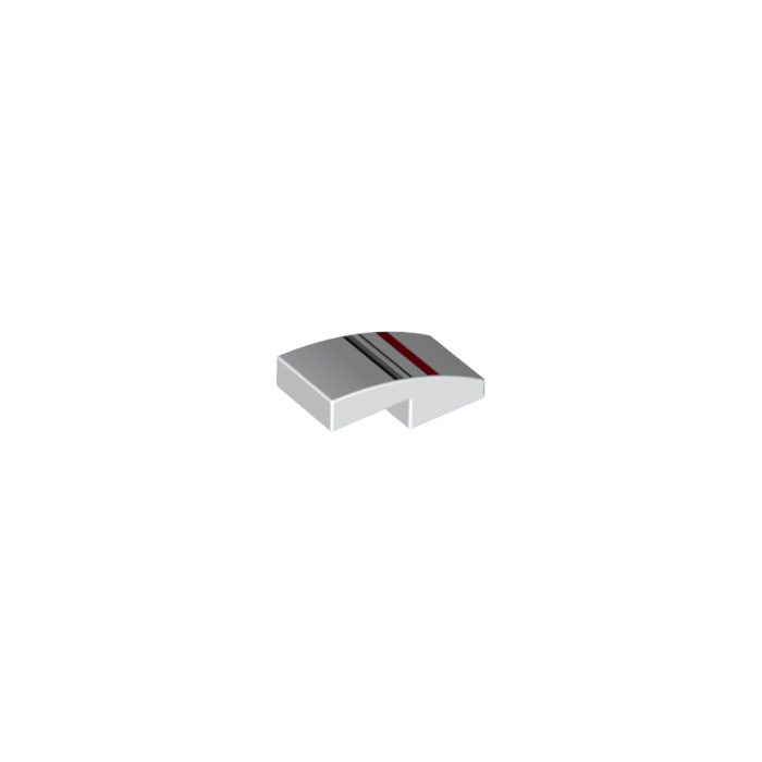 Lego slope curved 1 x 2 x with decoration 27427 for Decoration 66