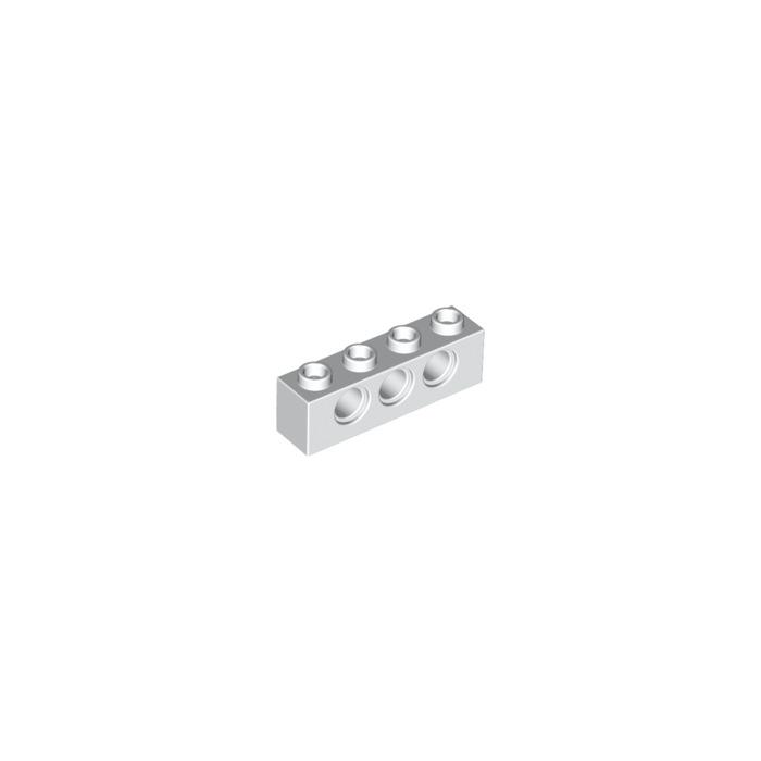 Ø4,9-370126 2 x Lego Black TECHNIC BRICK 1X4 Parts /& Pieces