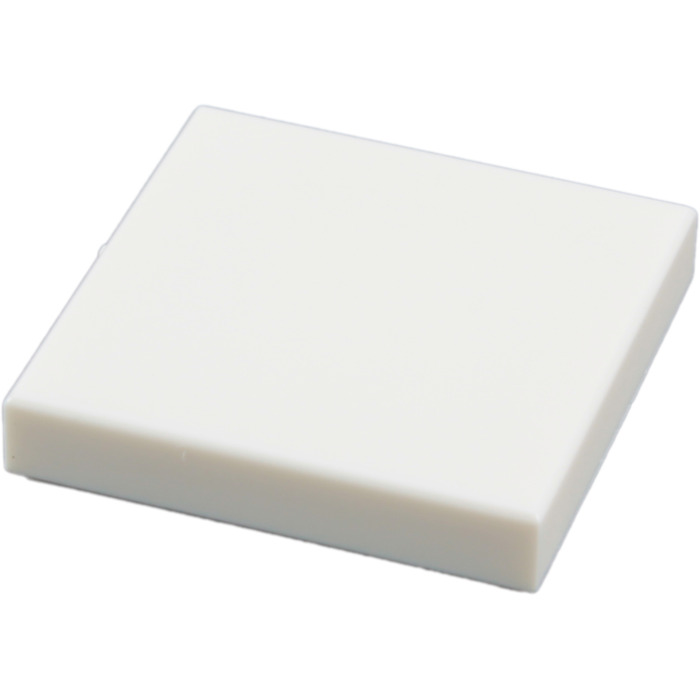 10x Tile plaque lisse 2 x 2 with Groove blanc//white 3068b NEUF Lego