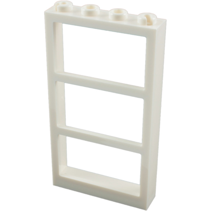 lego window 1 x 4 x 6 frame with three panes 6160 57894