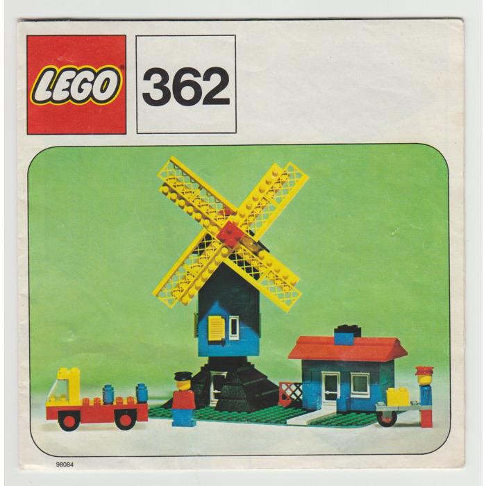 LEGO Windmill Set 362-1 Instructions