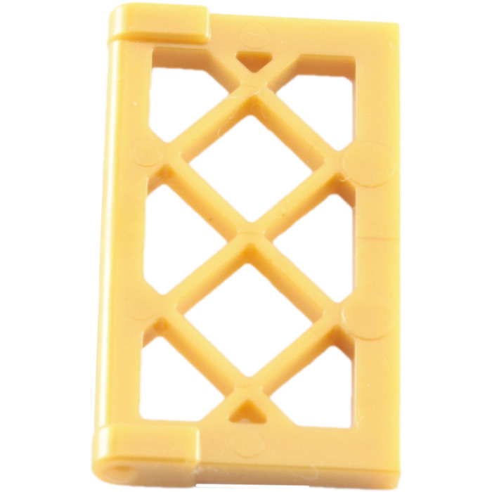 Lego window 1 x 2 x 3 latticed pane reinforced 60607 for 1 x 3 window