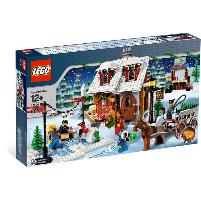 lego winter village bakery set 10216 brick owl lego. Black Bedroom Furniture Sets. Home Design Ideas