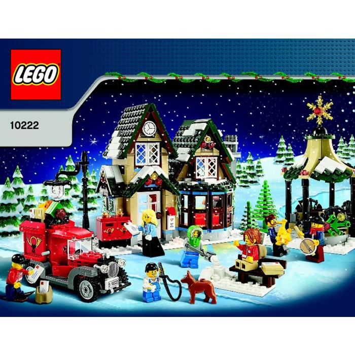 Lego Winter Village Post Office Set 10222 Instructions Brick Owl