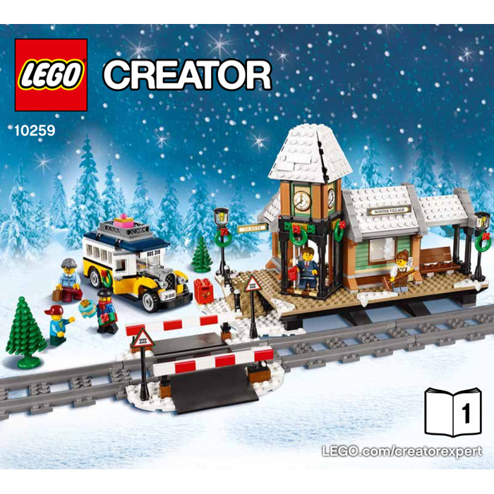 Lego Winter Village Station Set 10259 Instructions Brick Owl