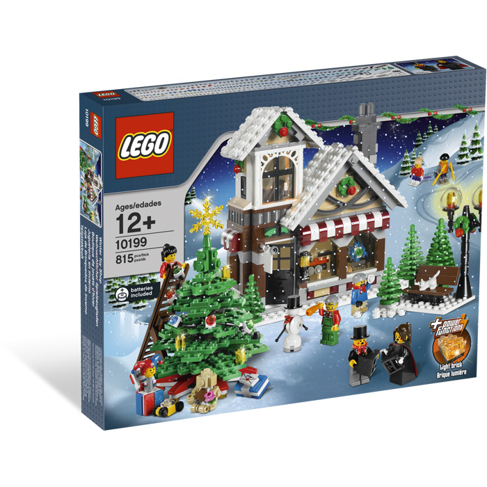 Lego Winter Village Toy Shop Set 10199 Packaging Brick Owl Lego