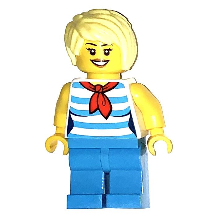 Lego woman stewardesse 3D model - TurboSquid 1346243