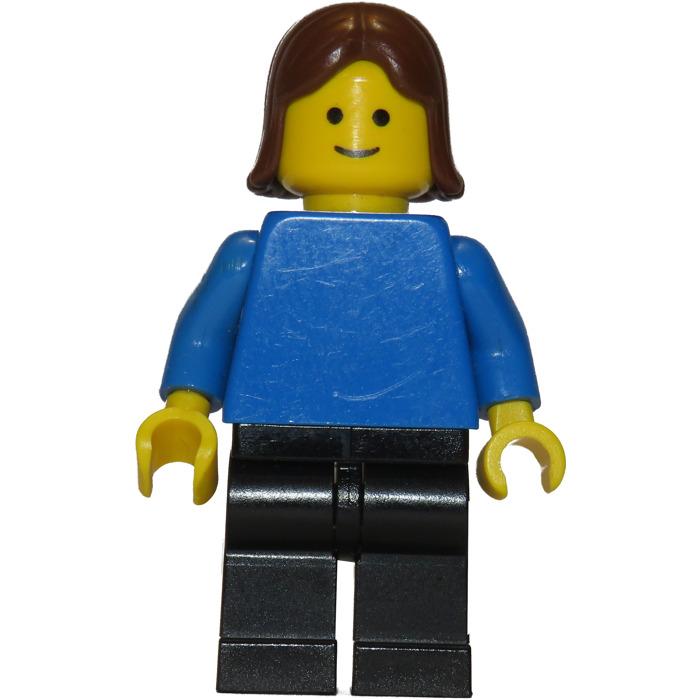LEGO Woman in Black Leather Jacket Minifigure   Brick Owl