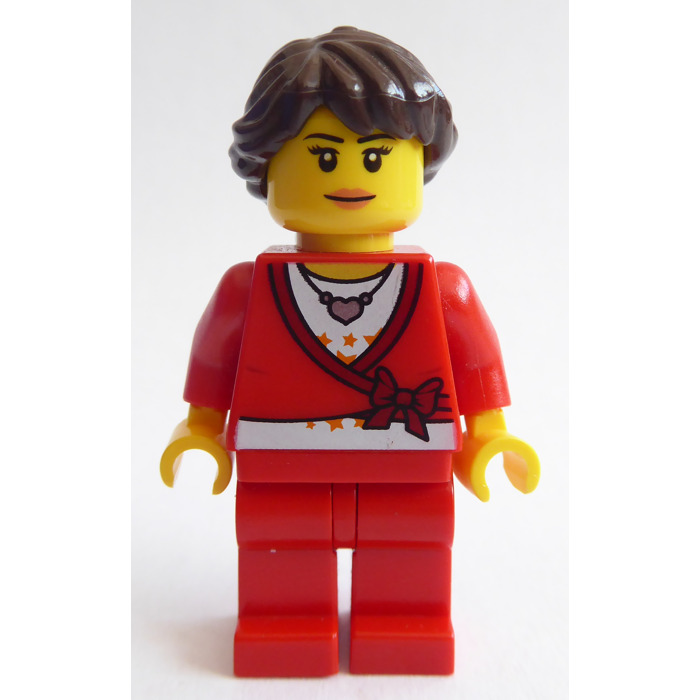 LEGO Woman in Medium Lavender Jacket Minifigure   Brick