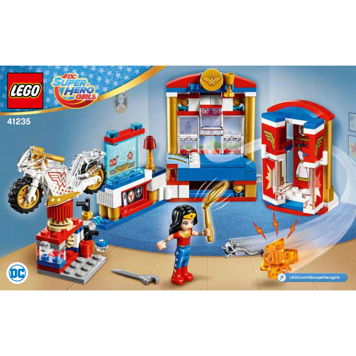 LEGO Wonder Woman Dorm Room Set 41235 Instructions | Brick ...