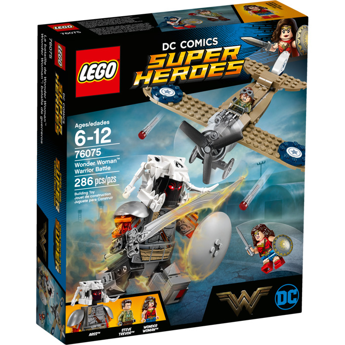LEGO Wonder Woman Warrior Battle Set 76075 | Brick Owl ...