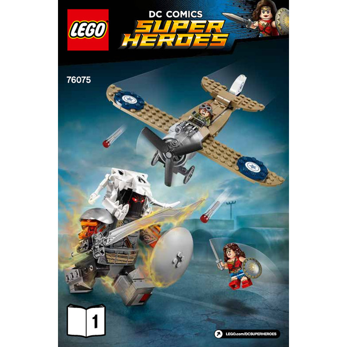 LEGO Wonder Woman Warrior Battle Set 76075 Instructions ...