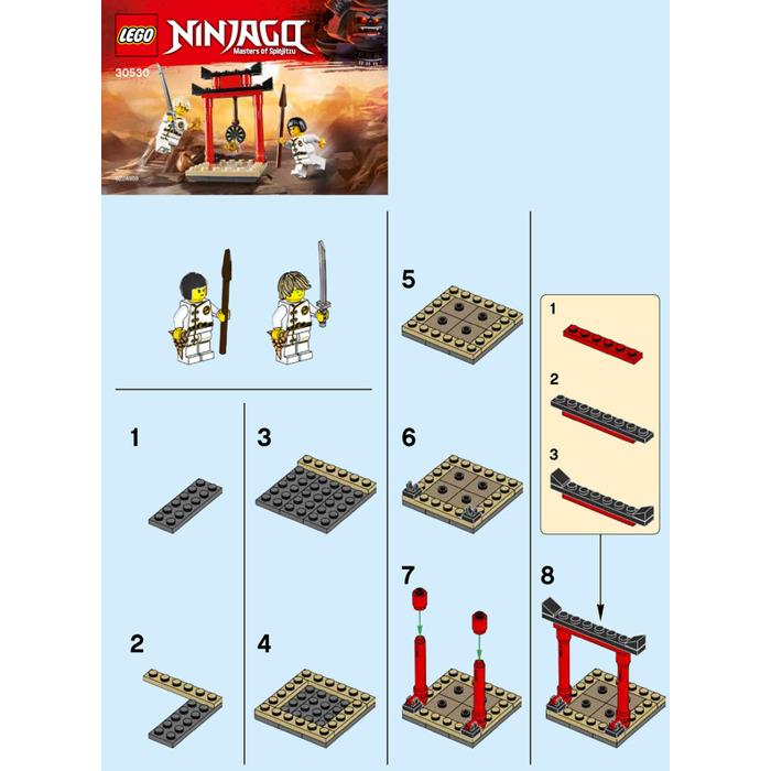 LEGO WU-CRU Target Training Set 30530 Instructions | Brick Owl ...