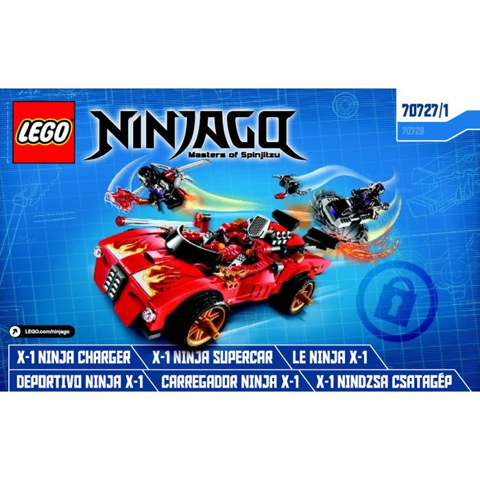 LEGO X-1 Ninja Charger Set 70727 Instructions | Brick Owl - LEGO ...