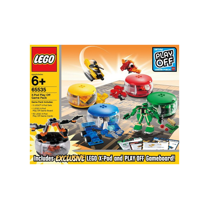 1, LEGO X Pod Play Off Game Pack Set 65535