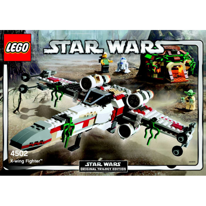 Lego X Wing Fighter Set 4502 Instructions Brick Owl Lego Marketplace