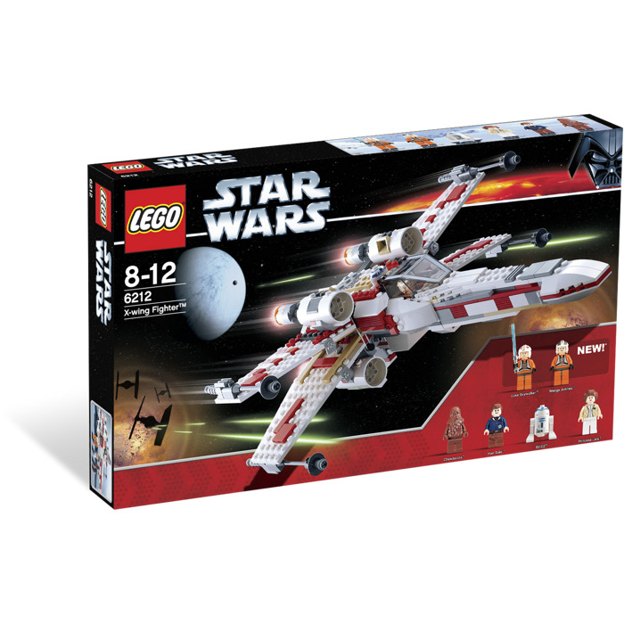 lego star wars x wing fighter instructions