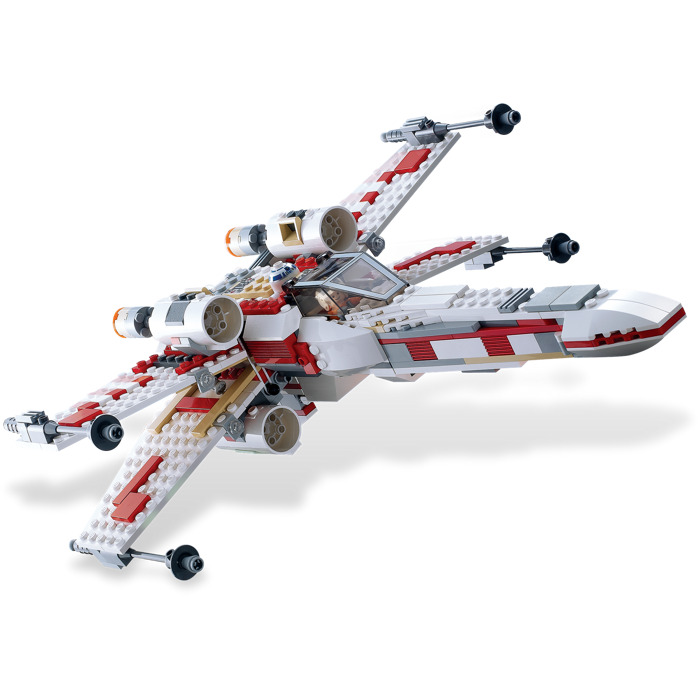lego x wing fighter set 6212 brick owl lego marketplace. Black Bedroom Furniture Sets. Home Design Ideas