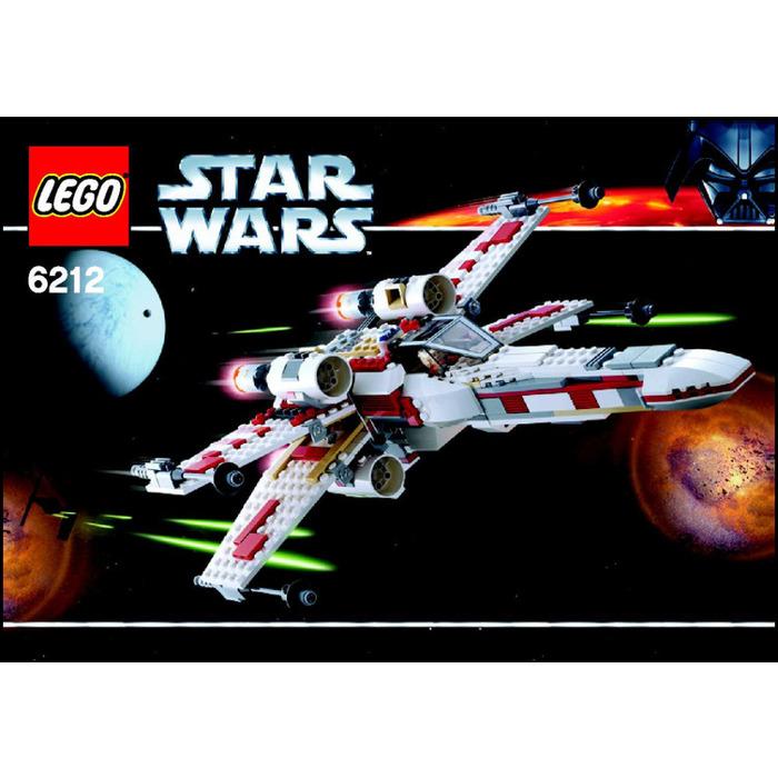 Lego X Wing Fighter Set 6212 Instructions Brick Owl Lego Marketplace