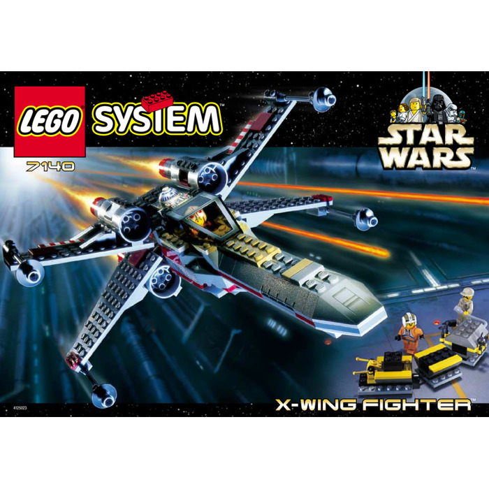 Lego X Wing Fighter Set 7140 Instructions Brick Owl Lego Marketplace