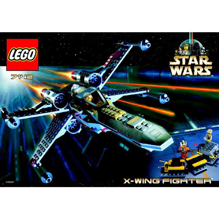 Lego X Wing Fighter Set 7142 Instructions Brick Owl Lego Marketplace