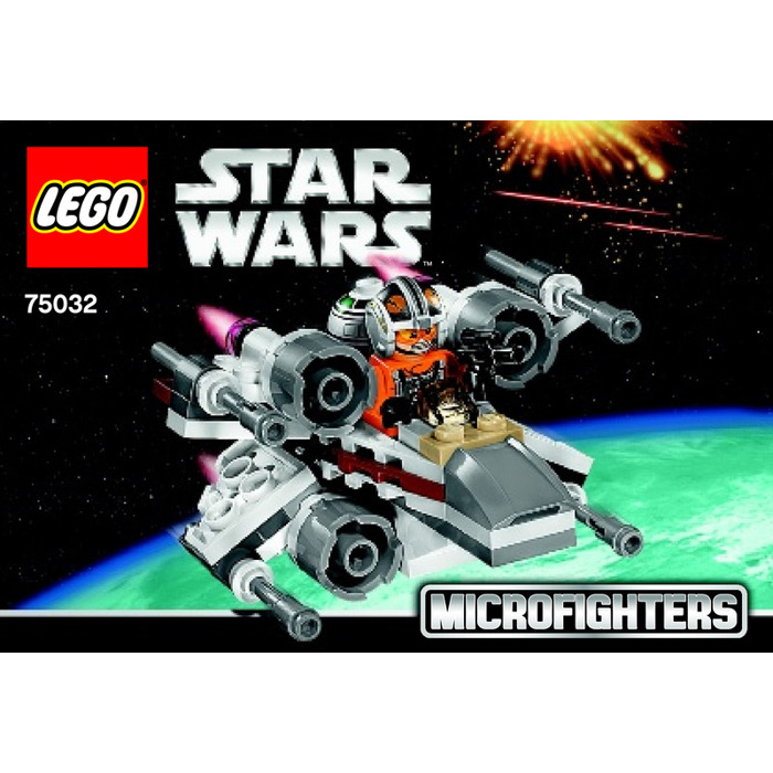 Lego X Wing Fighter Set 75032 Instructions Brick Owl Lego