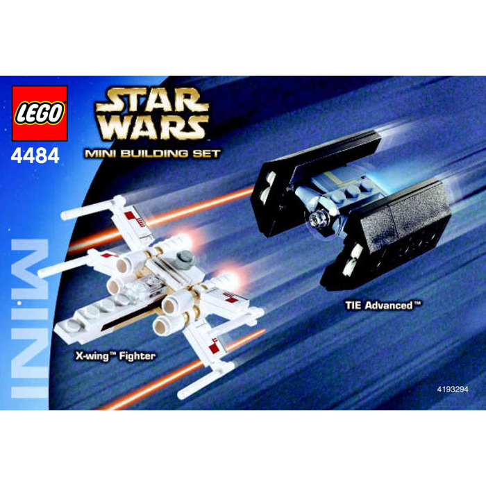 Lego X Wing Fighter Tie Advanced Set 4484 Instructions Brick Owl
