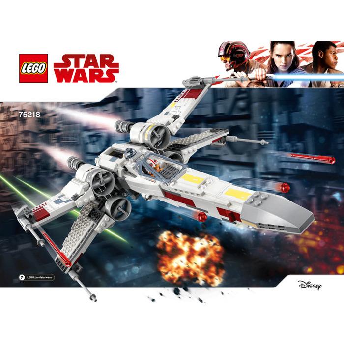Lego Star Wars X Wing Starfighter 75218 Brand New: LEGO X-wing Starfighter Set 75218 Instructions