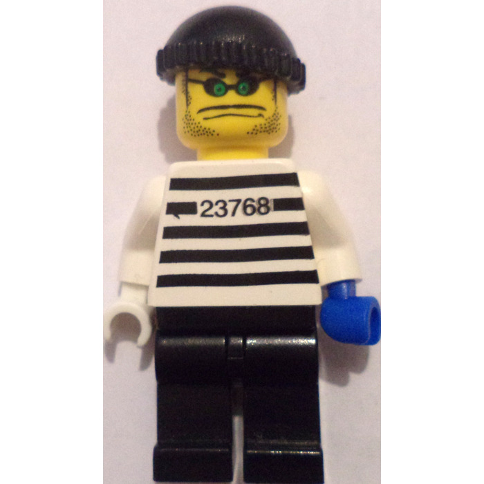 1, LEGO Xtreme Stunts Brickster with Knit Cap Minifigure