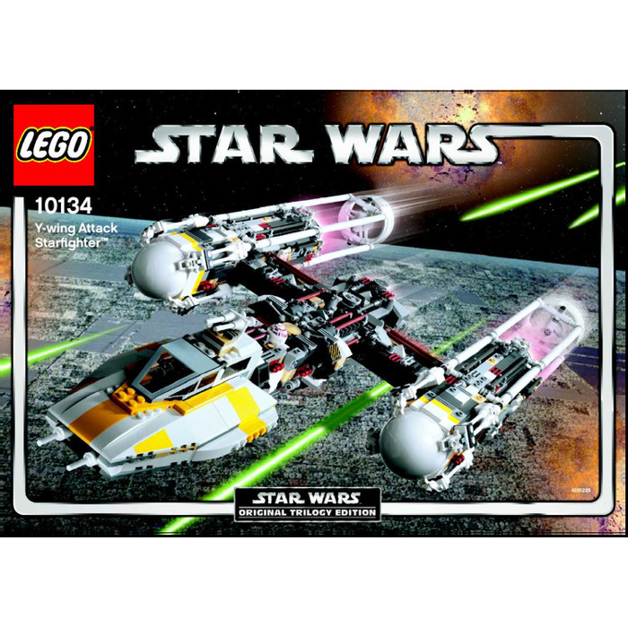 Lego Y Wing Attack Starfighter Set 10134 Instructions Brick Owl