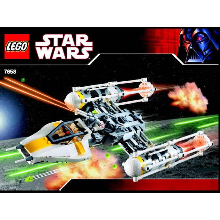 Buy Lego Star Wars Y Wing Starfighter: LEGO Y-wing Fighter Set 7658 Instructions