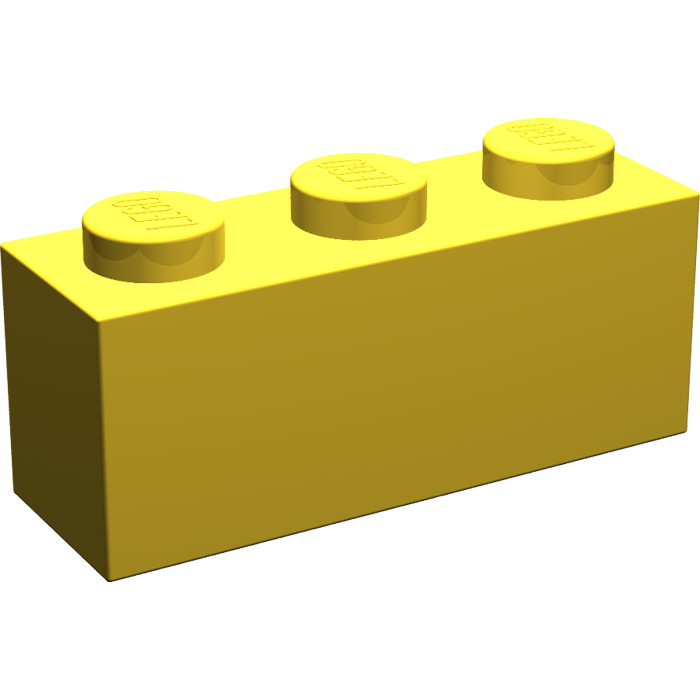 Brick 1 x 3-3622 NEUF Medium Blue LEGO X 10