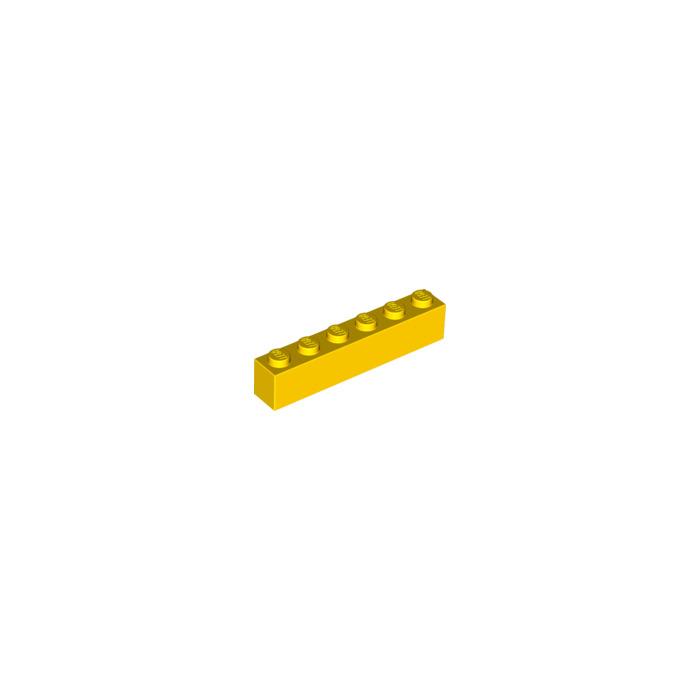 New Neuf Jaune // Yellow lot kg Lego 3009-4x Briques // Brick 1x6