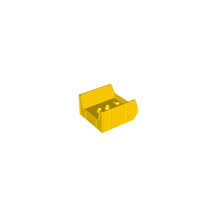 Lego Yellow Duplo Tipper Bucket With Cutout 14094 Brick Owl