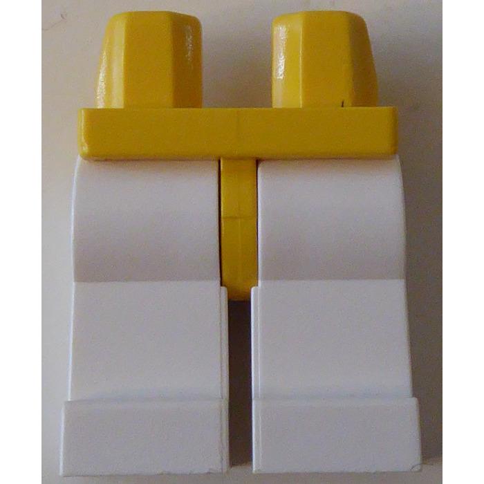 Lego Minifig Legs x 10 Dark Stone Grey
