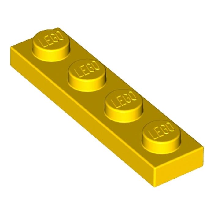 4x Liftarm 1x2 Thick Dick Gelb//Gelb 43857 Neu Lego Technic