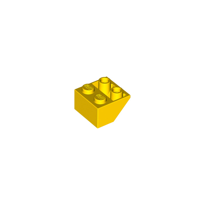 Free p /& p 20 x Lego Brick 3660 Yellow Slope Brick 45 2 x 2 Inverted