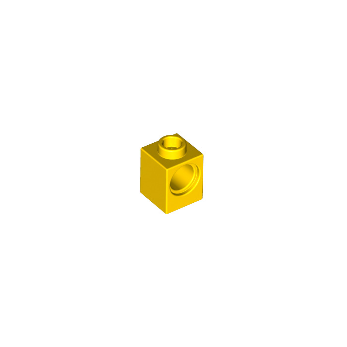 6541 10 Piece K1 # LEGO Brick 1x1 Yellow Hole