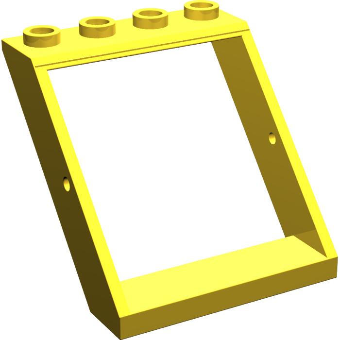 Lego window 4 x 4 x 3 roof 4447 brick owl lego for Window design 4 4