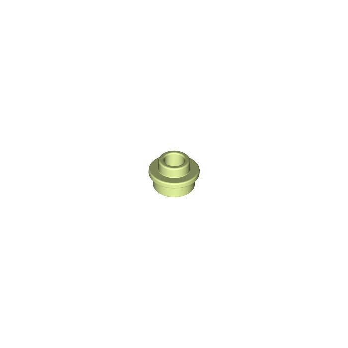 4016 LEGO plaque avec Dentelle Dent 1x1 Vert foncé 5 pièces
