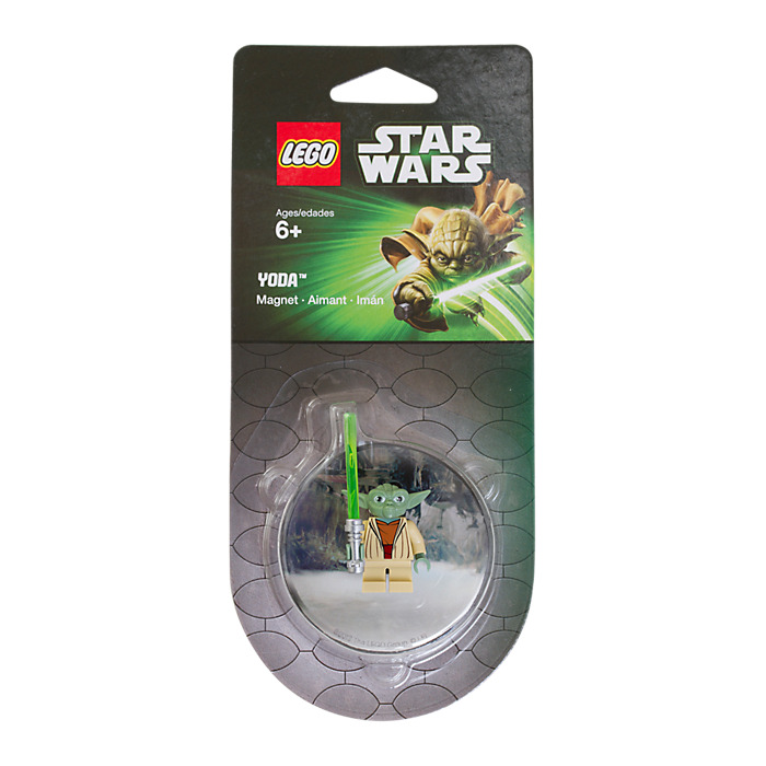 *** Yoda ***LEGO 850644 STAR WARS EXCLUSIVE MAGNET MINI-FIGURENEW SEALED!