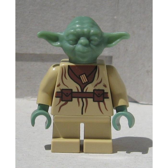 lego yoda minifigure - Lego Yoda