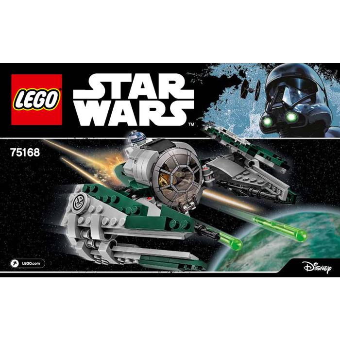 Lego Yodas Jedi Starfighter Set 75168 Instructions Brick Owl
